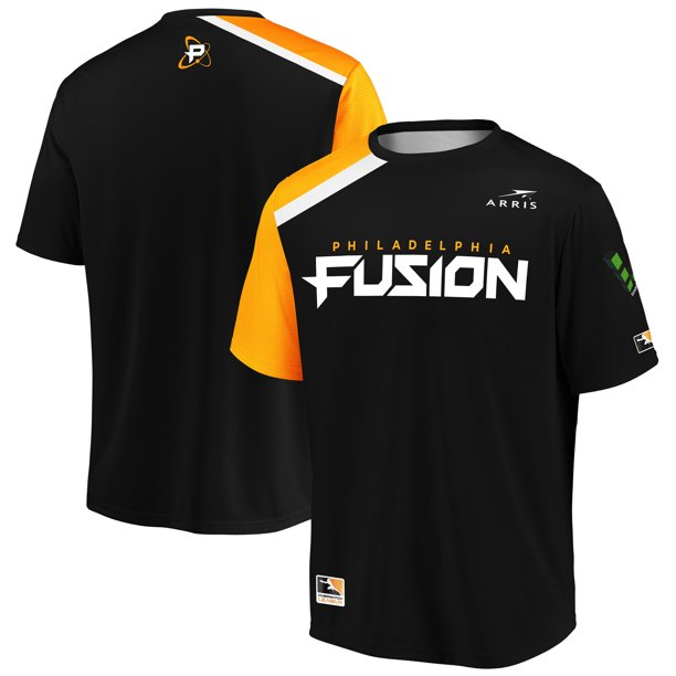 Philadelphia Fusion Overwatch League Replica Home Jersey - Black