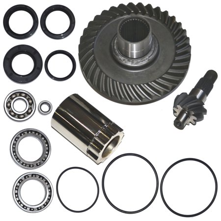 Top Notch Parts Honda TRX300FW Fourtrax Rear Differential Ring Pinion Gear Plus Kit (Metal Differential Gear)