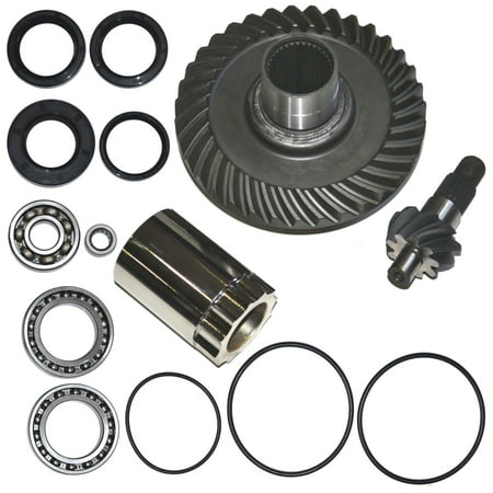 Top Notch Parts Honda TRX300FW Fourtrax Rear Differential Ring Pinion Gear Plus Kit 1988-2000 (Car Pinion Gears)