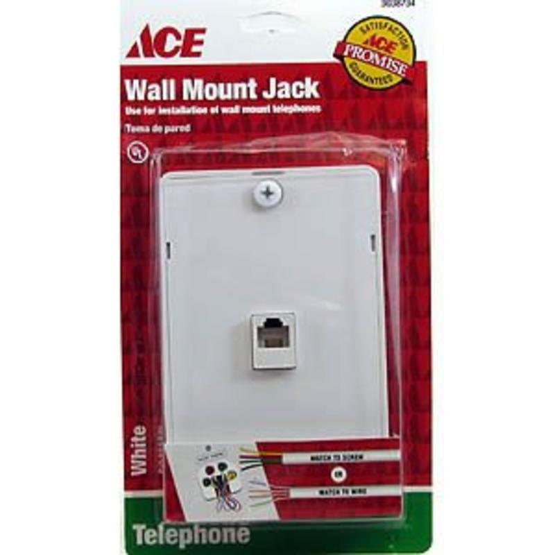Wall Mount Jack Ace Misc Screen and Storm Door Hardware 3038730 082901021780