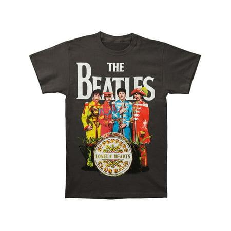 Beatles Men's  Sgt. Pepper T-shirt Grey - Beatles Outfit