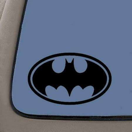 Batman Bat Symbol Vinyl Decal Sticker Black Vinyl Decal 55
