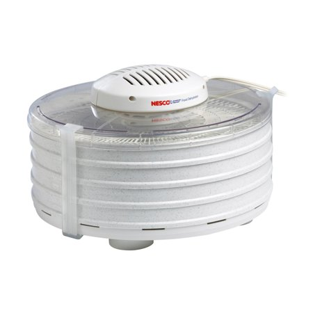 Nesco FD-37 Food Dehydrator [Clear Cover] (Best Food Dehydrator For Herbs)