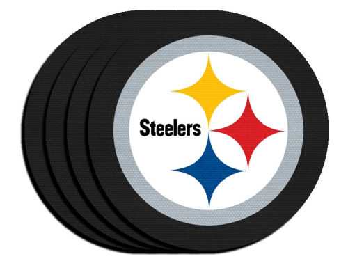 Coasters Set of 4 Pittsburgh Steelers by Duck House