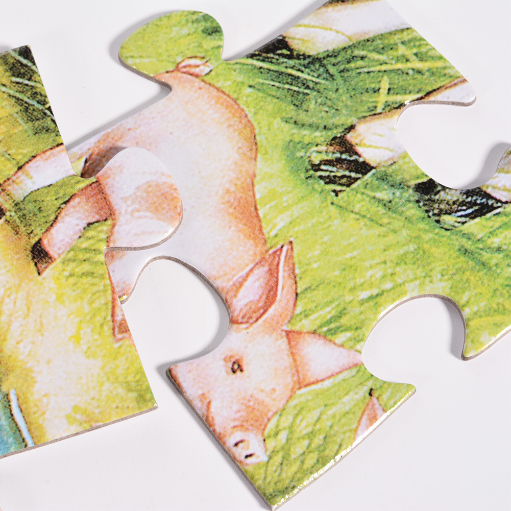 Country Farm Floor Puzzles Super Puzzle Set (Set of 2 Puzzles) by
