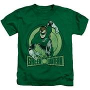 Dc - Green Lantern - Juvenile Short Sleeve Shirt - 5/6