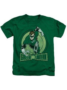 Dc - Green Lantern - Juvenile Short Sleeve Shirt - 4