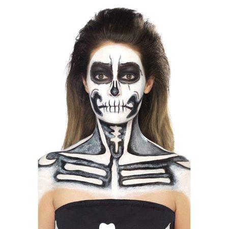 Black Bride Halloween Makeup (20