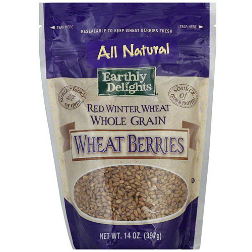 Nature's Earthly Choice Red Winter Wheat Berries, 14 oz (Pack of 6)