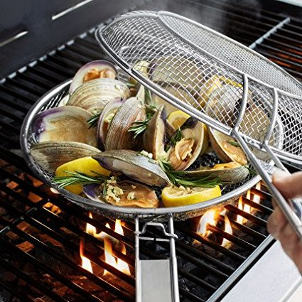 2-In-1 Mesh Grill Pan Set CC9814, Sur La Table 2-In-1 Mesh Grill Pan ...