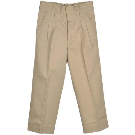 Universal Little Boys' Pleated Pull-On Pants (Sizes 2 - 7)