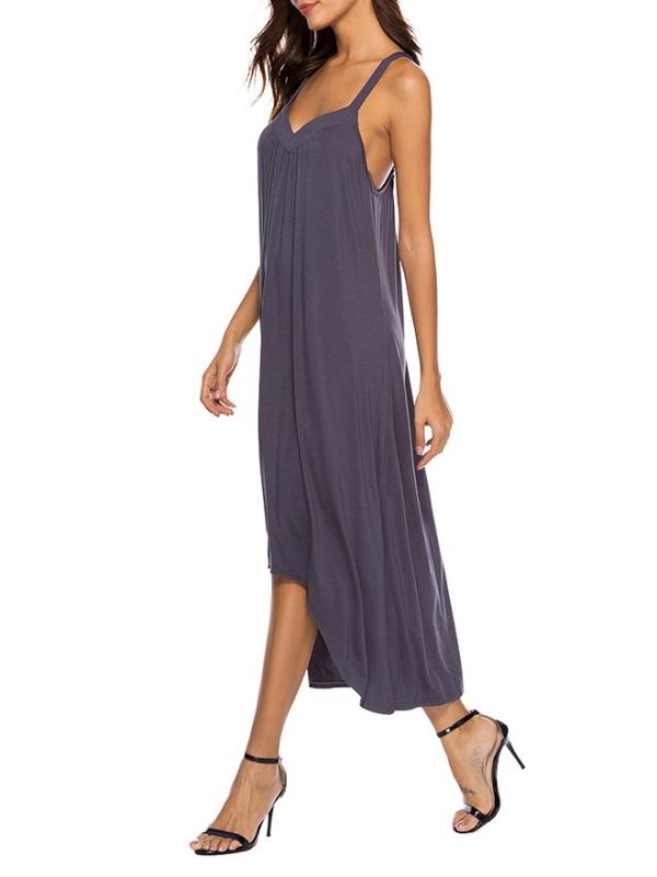 3dce11a5f2 OUMY Womens Nightgown Sleepwear Pajamas Strappy Sleep Dress Nightshirt -  Walmart.com