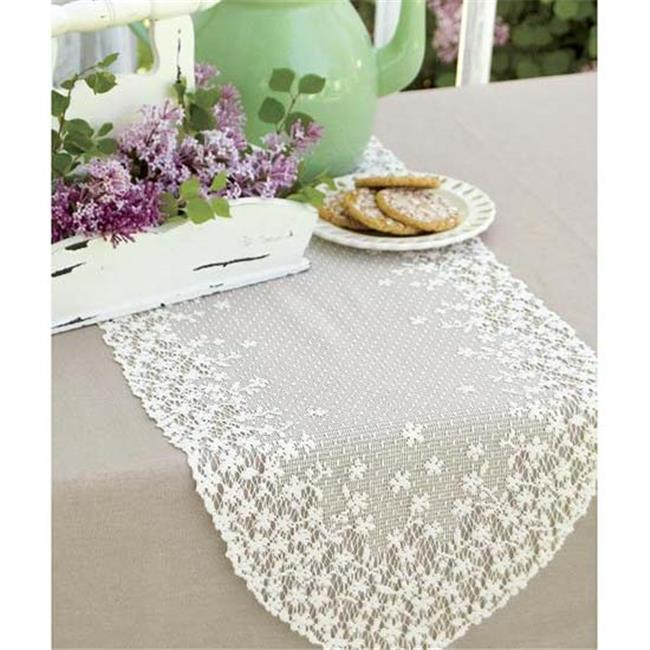 Heritage Lace Blossom Table Runner