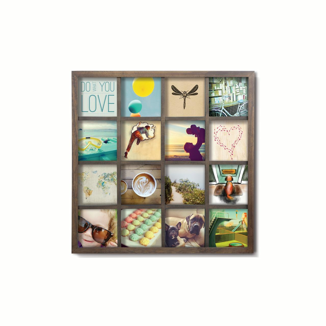 Umbra Gridart 4x4 Picture Frame Diy Gallery Style Multi Picture