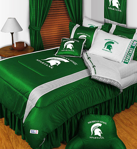 Store51 Llc 12442756 Ncaa Michigan State Comforter Pillowcase College Bedding