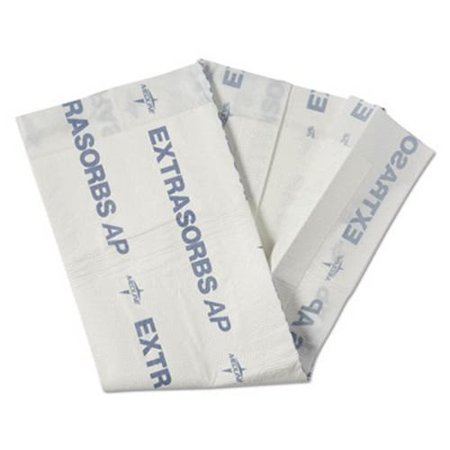 Medline Extrasorbs Air-Permeable Disposable DryPads, 70/Carton (MIIEXTSRB3036CT)