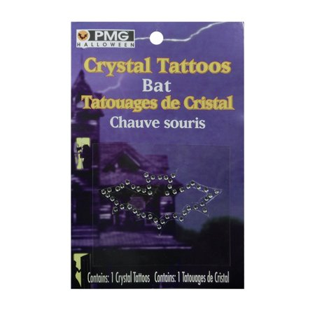 Crystal Body Tattoo Fake Temporary Costume Accessory Assortment](Fake Tattoos That Look Real)