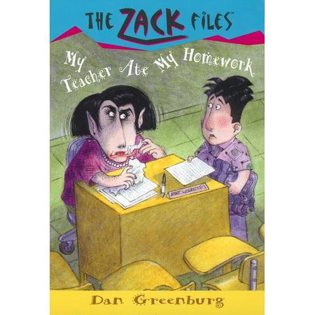 Zack Files 27: My Teacher Ate My Homework](Homework Hero)