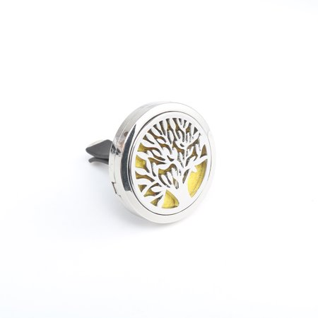 Stainless Car Air Vent Freshener Essential Oil Diffuser Clip Aromatherapy Purifier for Car-styling