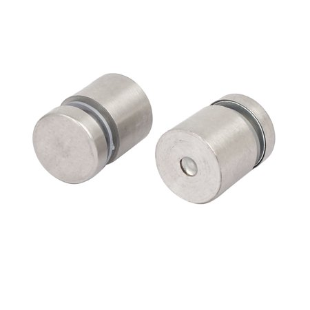 20mmx25mm Glass Table Spacers Standoff Fixing Fastening Screws Bolts 2pcs