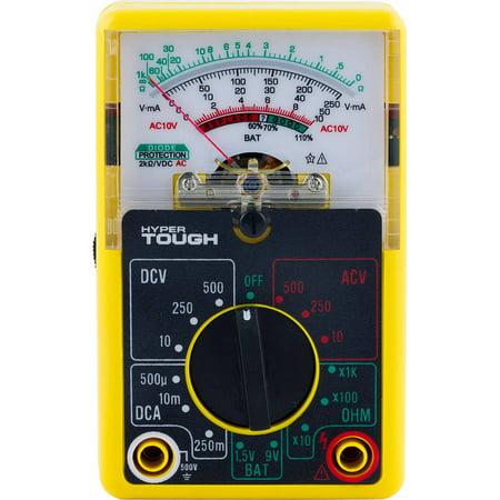 Hyper Tough Multimeter, 14-Range (Best Mid Range Multimeter)