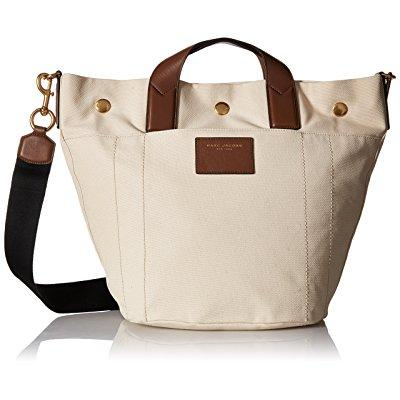 Marc Jacobs canvas leather trooper small paratrooper hand...