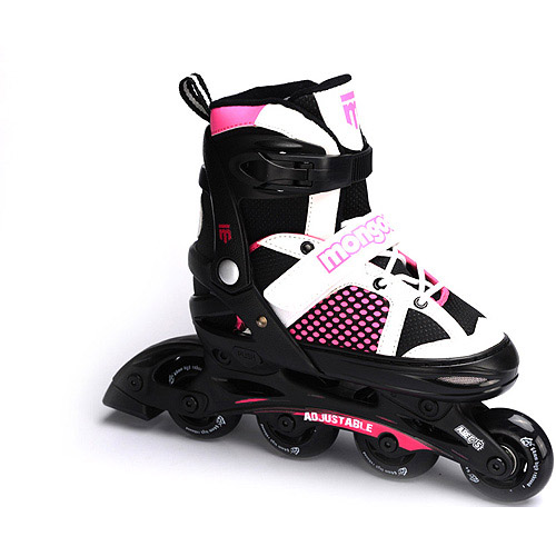 Mongoose Girls' In-Line Skates, Large