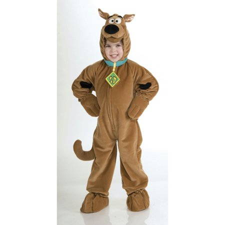 Deluxe Scooby Doo - Children's Costume - Scooby Doo Halloween Costume Diy