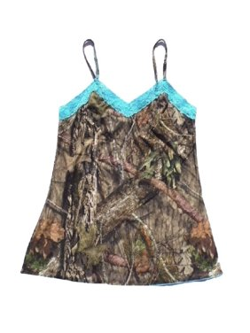 8c4b9e1f9c29c Product Image Women's (Small) Mossy Oak Breakup Country Camo Camisole with  Aqua Accents
