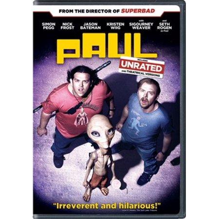 Paul (Rated/Unrated) (DVD) - Paul Rudd Halloween Movie