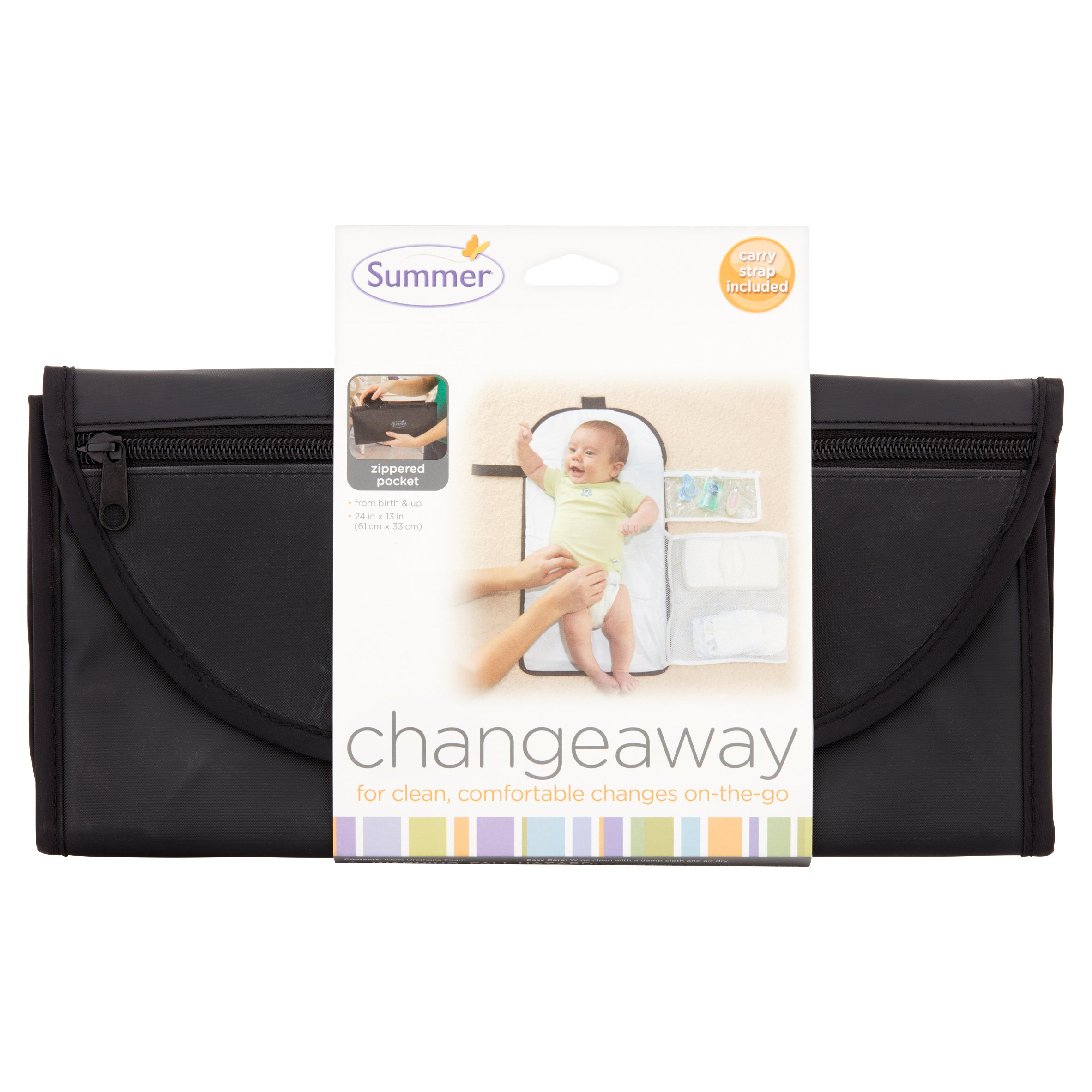 Summer Infant - ChangeAway Portable Changing Pad & Diaper Kit