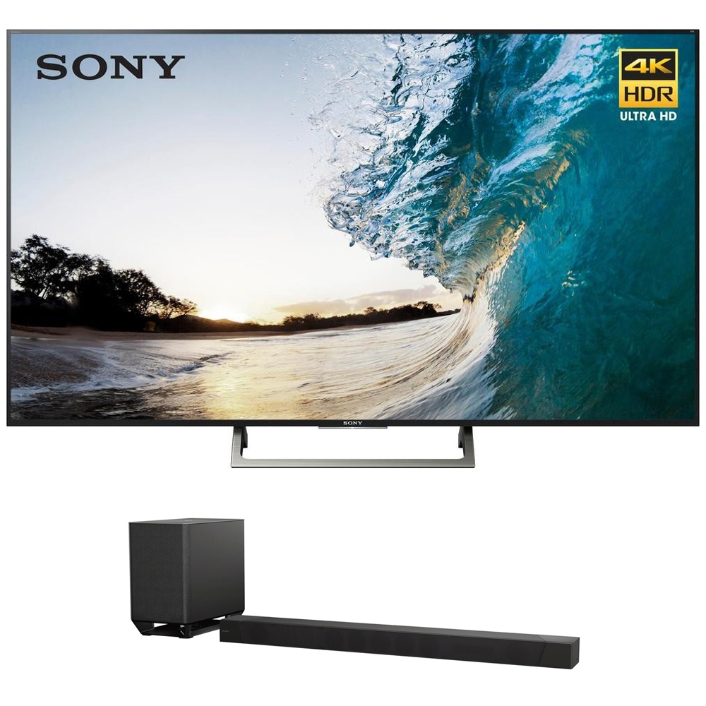 "Sony 75"" Class 4K Ultra HD (2160P) HDR Android Smart LED TV (XBR75X850E) with Sony HT-ST5000 7.1.2ch 800W Dolby Atmos Sound Bar"