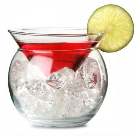 Libbey Martini Chiller 2 Piece Glass - 5.75 - Halloween Martini