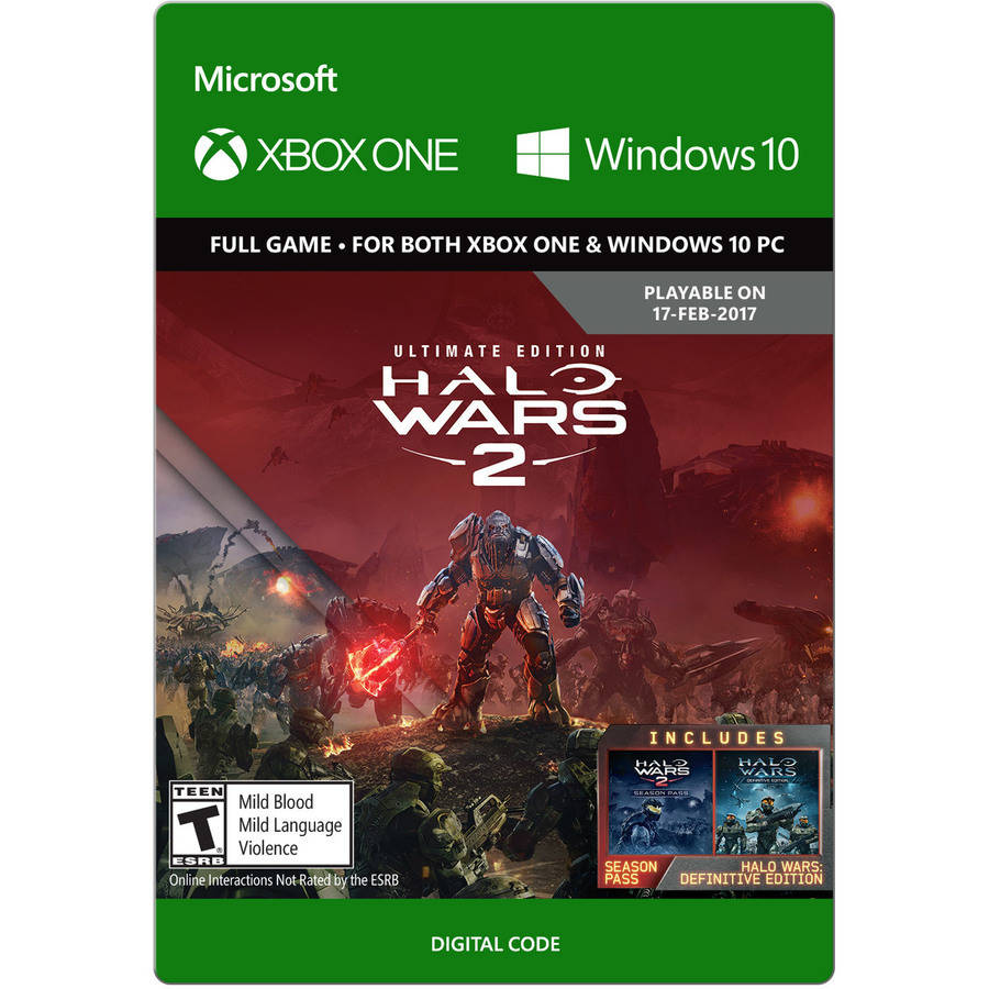 XBOX Halo Wars 2 Ultimate Edition Pre Order (Email Delivery)