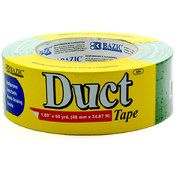 """BAZIC 1.88"""" X 60 Yards Green Duct Tape (12 Units Included)"""