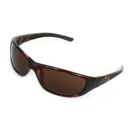 Traveling Leopard Pattern Ultraviolet Proof Brown Plastic Full Rim (Proofs Sunglasses)