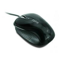 Lifeworks iHome Ergonomic USB Desktop Mouse Black IH-M1010B