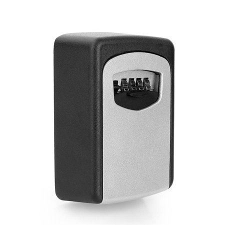 Password Lock Spare Key Storage Safe Box, 10-Digit Password Combination Wall Mount Key Security Lock, Outdoor Lock Storage Box, Design for Homes, Office, Business, (Best App To Keep Passwords Safe)