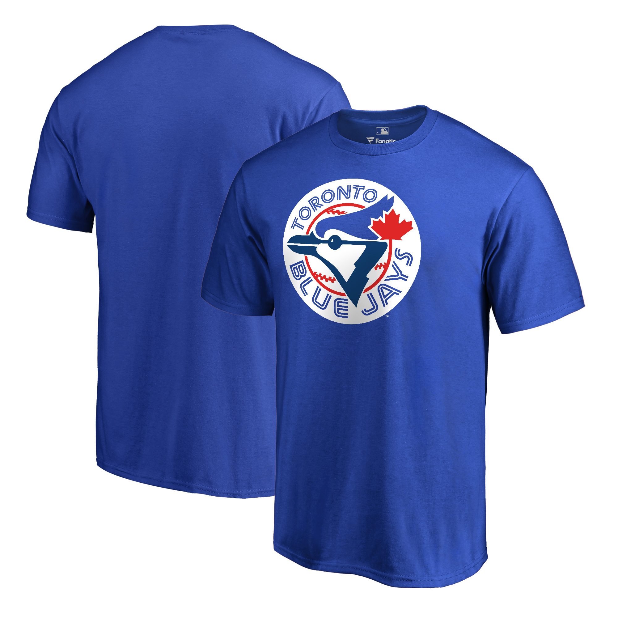 Toronto Blue Jays Fanatics Branded Cooperstown Collection Huntington T-Shirt - Royal