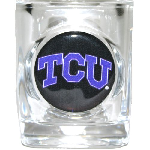 Tcu Horned Frogs Shot Glass - Square 2oz