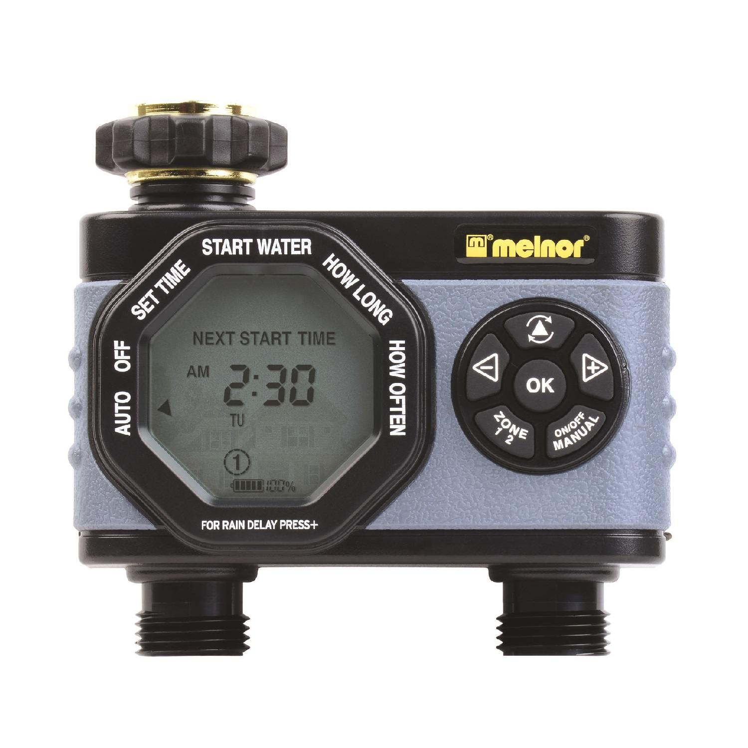 Melnor Hydrologic 2-Zone Digital Water Timer by MELNOR INC