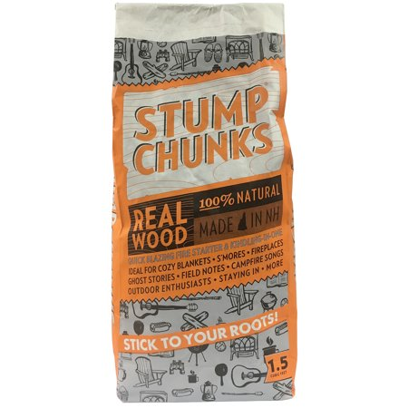 Stump Chunks LLC SC15 1.5 Cubic Ft Kindling Fire Starter ()