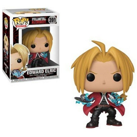 Funko POP - Full Metal Alchemist - Edward Elric - Vinyl Collectible Figure (Painted Metal Figure)