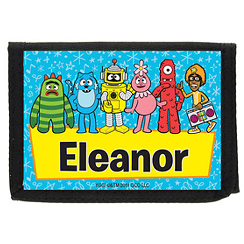 Personalized Yo Gabba Gabba! Group Wallet