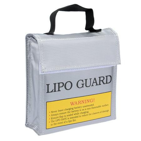 Lipo Battery Fireproof Bag Storage Guard Safe Charging Holder 155mmx50mmx155mm