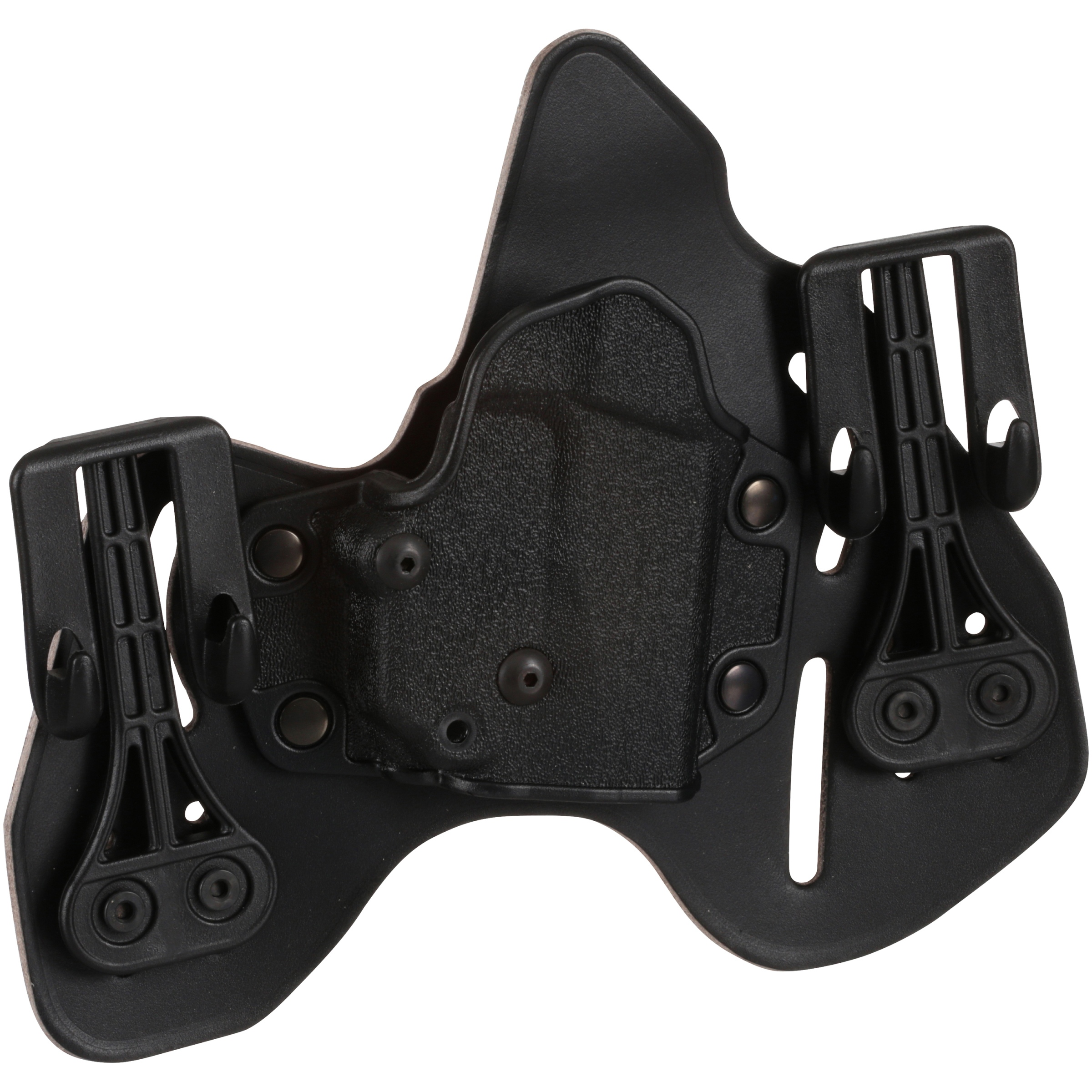 Blackhawk! Ruger LCP Black Right Hand Leather Tuckable Pancake Holster Carded Pack