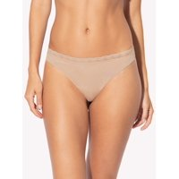 Smart & Sexy Women's micro thong panty, 2 pack