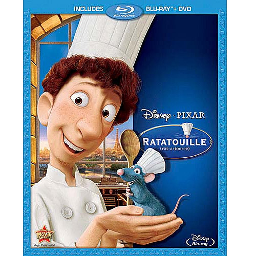 Ratatouille (Blu-ray   DVD) (Widescreen)