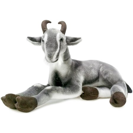 Patrick the Pygmy Goat | 18 Inch Large Stuffed Animal Plush | By Tiger Tale Toys ()