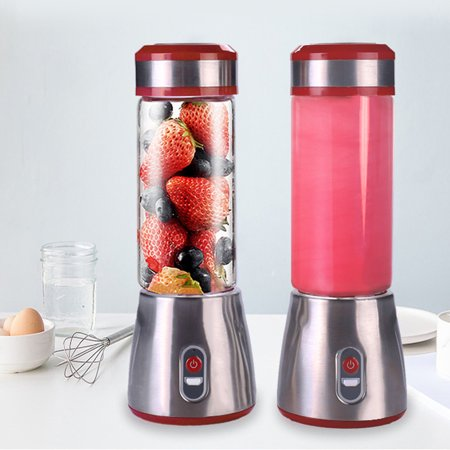 Mini USB Juicer Portable Blender Fruit and Vegetable Mixing Machine Spinner Nutrient Extraction Smoothie Blender 20W
